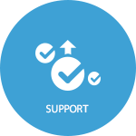 start supporting your customer using devContact desk